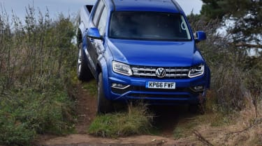 VW Amarok V6 - off road
