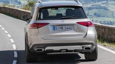 new Mercedes-Benz GLE - rear