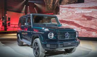 Mercedes G-Class show - front quarter