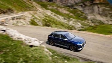 Audi SQ8 TDI review - top