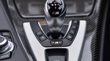 BMW M6 Competition Package gear selector