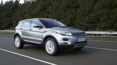 Nine-speed transmission for Range Rover Evoque