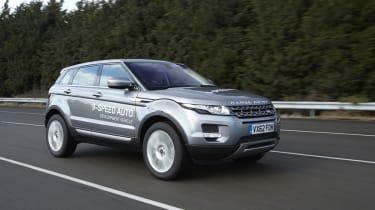 Nine-speed transmission for Range Rover Evoque