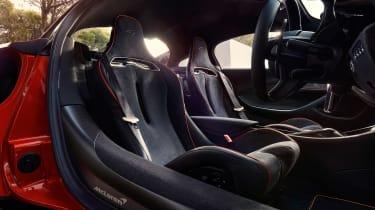 McLaren Artura revealed - orange seats