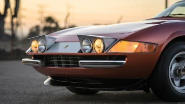 Ferrari Daytona Bill Harrah - headlights
