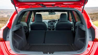 Kia Ceed GT five-door bootspace