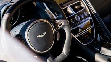 Aston Martin DBS Superleggera drive - insteror
