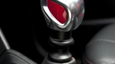 Peugeot 208 GTI six-speed manual gearstick