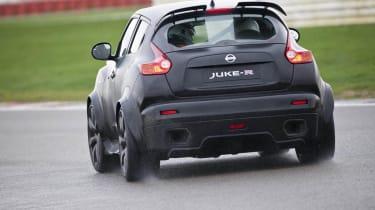 Nissan Juke-R on track