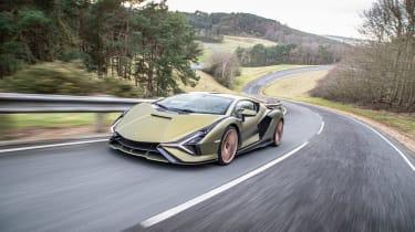 Lamborghini Sian - tracking
