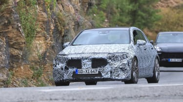 Mercedes-AMG A45 Spies - front1