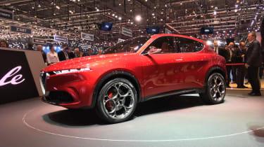Alfa Romeo Tonale - front quarter