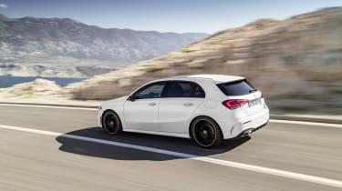 Mercedes-Benz A-class rear three quarter