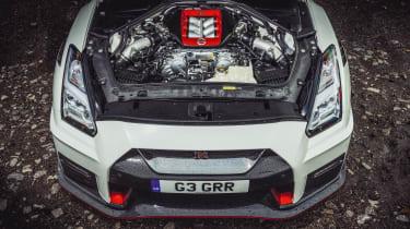 R35 Nissan GT-R Nismo engine bay