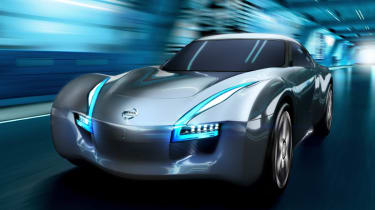 Nissan Esflow electric sports car concept