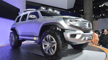LA Show: Mercedes Ener-G-Force