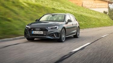 Audi S4 TDI review -  Avant front