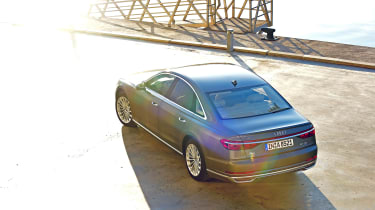 Audi A8 - top shot static