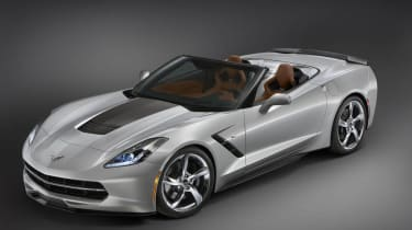 Chevrolet Corvette Convertible Atlantic concept