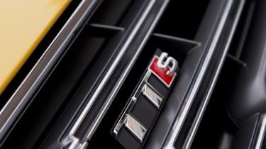 Audi TT S badge