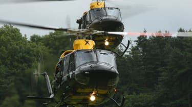 2012 Cholmondeley Pageant of Power helicopters