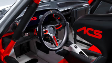 Singer Vehicle Design ACS - studio interior