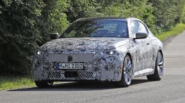 2021 BMW 2-series spy – front