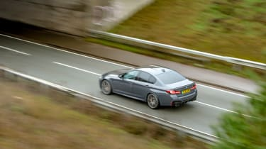 BMW M5 Competition - 2021 tracking