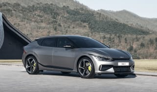 576bhp Kia EV6 GT revealed – front quarter