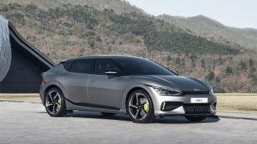 576bhp Kia EV6 GT revealed – front quarter