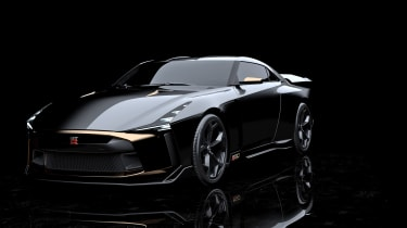 New Nissan GT-R50 by Italdesign prototype front
