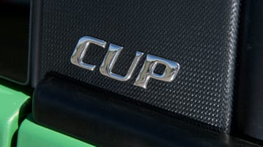 Renaultsport Clio 200 Cup badge
