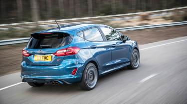 2018 Ford Fiesta ST –rear quarter