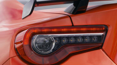 Toyota GT86 Orange Edition rear light