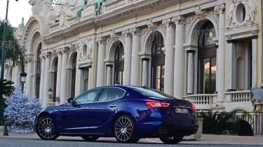 Maserati Ghibli S – rear quarter