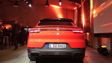 Porsche Cayenne Coupe - rear