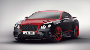 Bentley 'Continental 24' Supersport - red front