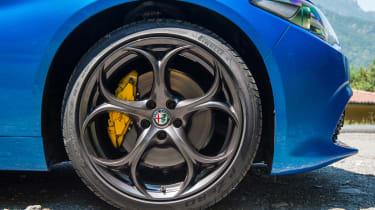 Alfa Romeo Giulia Veloce - wheel