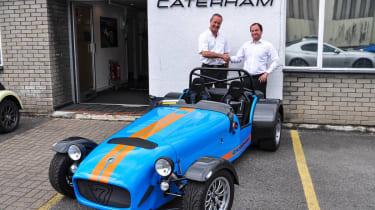 Caterham R500 production ends