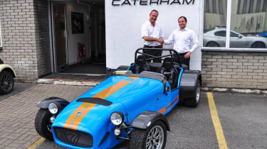 Caterham R500 production ends