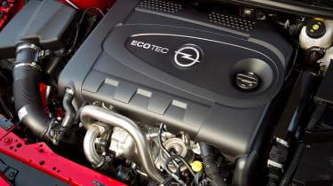 2012 Vauxhall Astra Biturbo twin-turbo diesel engine