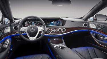 Mercedes-Maybach S 650 Saloon - dash