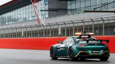 Aston Martin Vantage safety car - rear