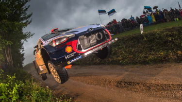 WRC round 9 - Rally Poland neuville 2