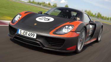 2013 Porsche 918 Spyder review