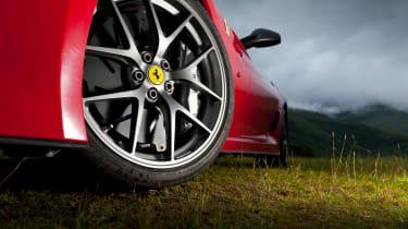 Ferrari 599 GTO - Wheel detail