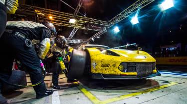 Le Mans 2017 - Corvette pits