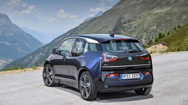 i3 blue - rear