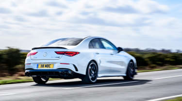 Mercedes-AMG CLA45 S rear