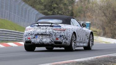 2021 Mercedes SL Spy - rear